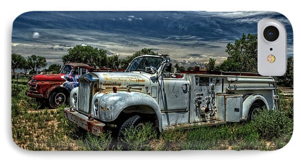 IPhone Case featuring the photograph Mack Fire Truck by Ken Smith