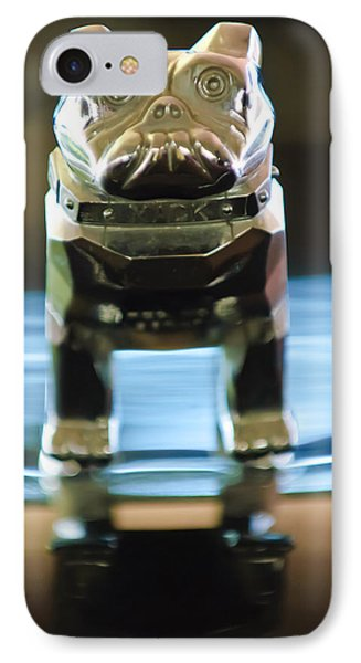 Mack Truck Hood Ornament 2 IPhone Case by Jill Reger