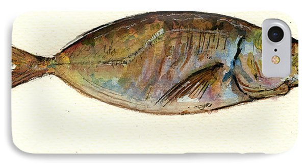 Mackerel Scad IPhone 7 Case by Juan  Bosco