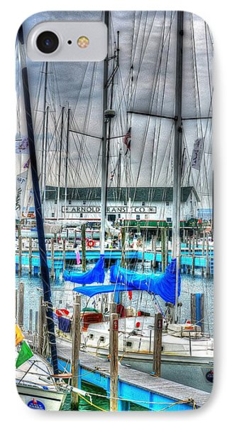 Mackinac Island Harbor IPhone Case