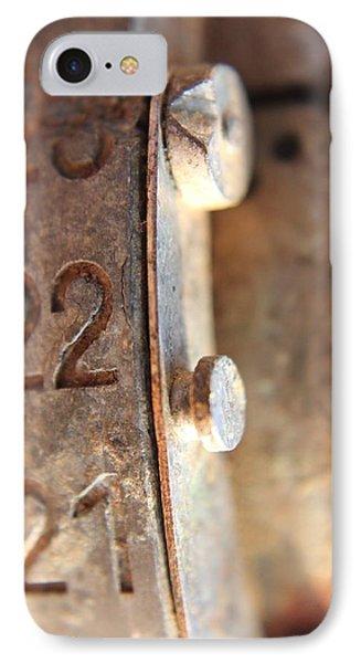 Macro Enigma IPhone Case