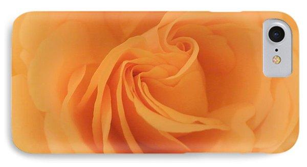 Macro Yellow Rose IPhone Case by Marsha Heiken