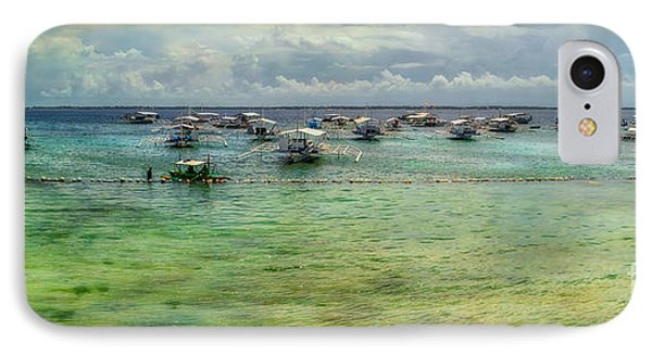 Mactan Island Bay IPhone Case by Adrian Evans