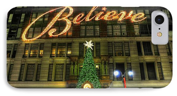 Macy's 2010 Christmas Slogan IPhone Case by Randy Aveille