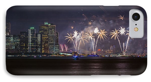 Macy's 4th Of July Fireworks  IPhone Case by Eduard Moldoveanu