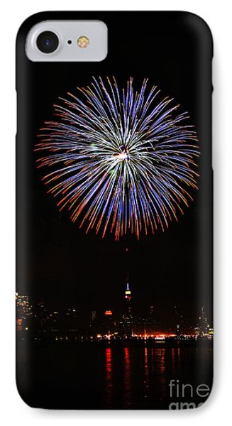 Fireworks Over The Empire State Building IPhone Case