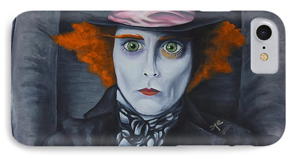 Mad Hatter Phone Case by Travis Radcliffe