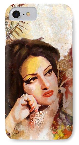 Madam Noor Jehan Phone Case by Catf