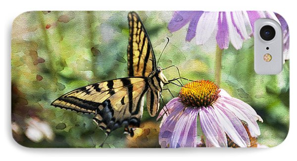 Madame Butterfly IPhone Case by Juli Scalzi