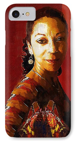 Madame Exotic IPhone Case by RC deWinter