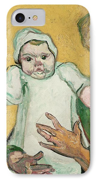 Madame Roulin And Her Baby Phone Case by Vincent Van Gogh