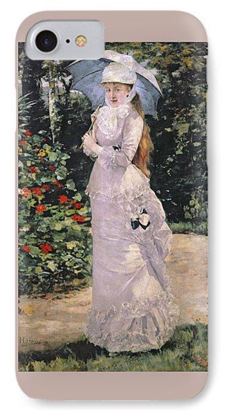 Madame Valtesse De La Bigne IPhone Case by Henri Gervex