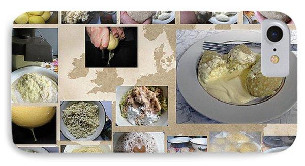 IPhone Case featuring the photograph Made In Lithuania... Cepelinai- Potato Dumplings by Ausra Huntington nee Paulauskaite