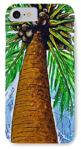 IPhone Case featuring the mixed media Made In The Shade by Melissa Sherbon