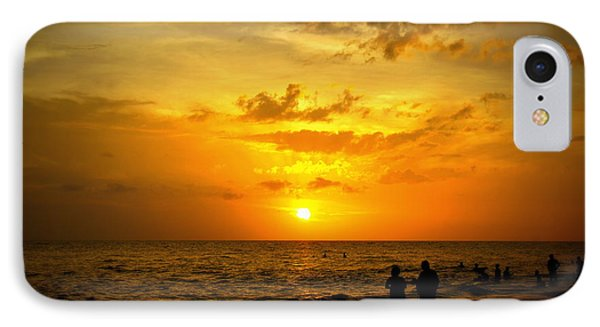 IPhone Case featuring the photograph Madeira Sunset by Laurie Perry