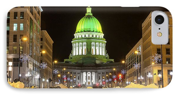 Madison Capitol IPhone Case by Steven Ralser