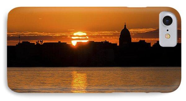 Madison Sunset IPhone Case by Steven Ralser