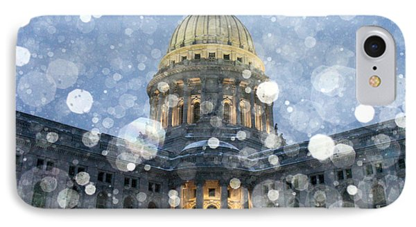 Madisonian Winter IPhone Case by Todd Klassy