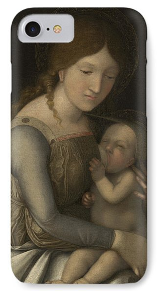 Madonna And Child Phone Case by Andrea Mantegna
