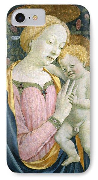 Madonna And Child Phone Case by Domenico Veneziano