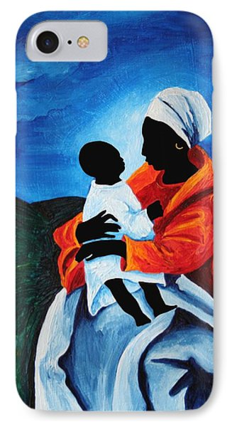 Madonna And Child First Words IPhone Case