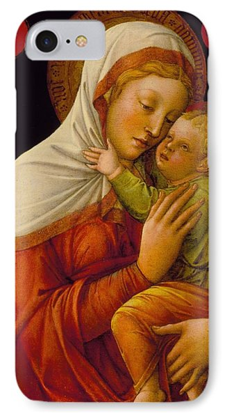 Madonna And Child Phone Case by Jacob Bellini