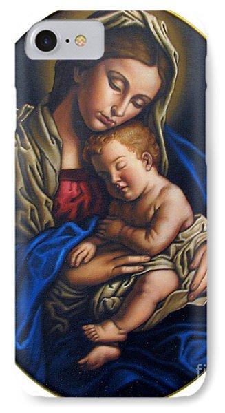 Madonna And Child Phone Case by Jane Whiting Chrzanoska