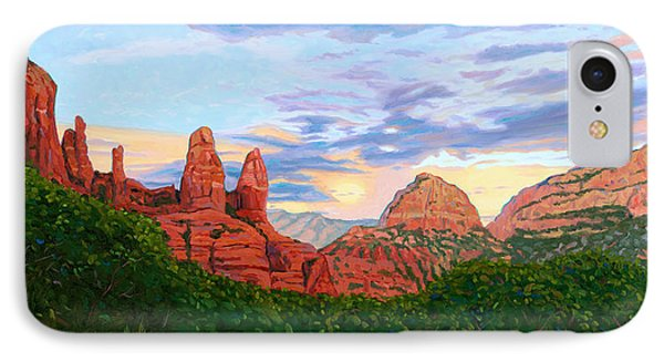 Madonna And Nuns - Sedona IPhone Case