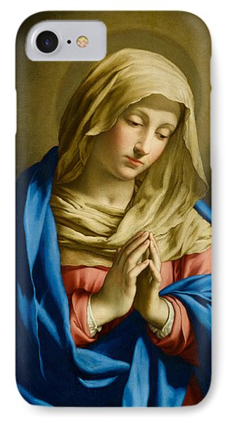 Madonna At Prayer IPhone Case
