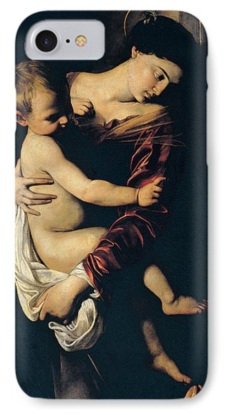 Madonna Di Loreto IPhone Case by Caravaggio