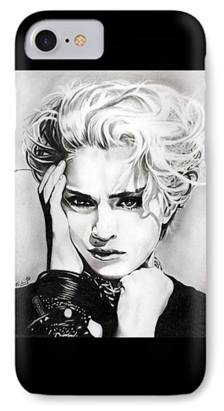 Madonna IPhone Case by Fred Larucci