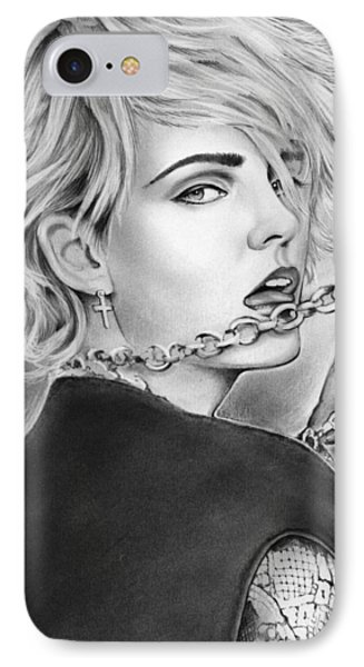 Madonna IPhone Case by Greg Joens