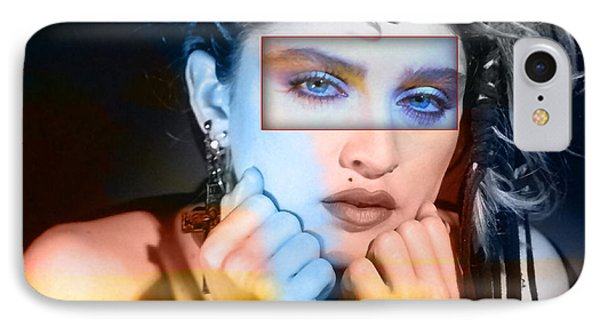 Madonna IPhone Case by Marvin Blaine