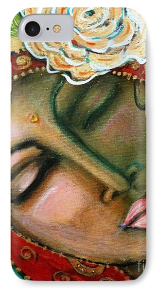 Madonna Of The First Breath Phone Case by Maya Telford