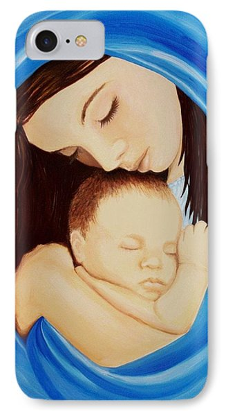 Madonna Of The Sea IPhone Case by Sophia Schmierer