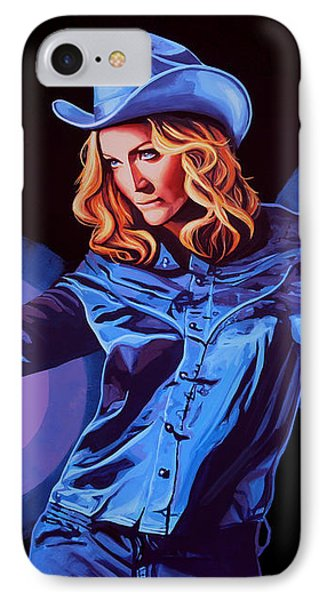 Madonna Painting IPhone Case by Paul Meijering