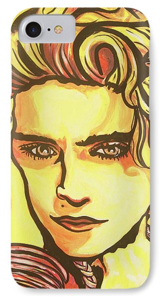 Madonna's Fire Phone Case by Lorinda Fore