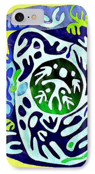 Madre Protectora Phone Case by Sarah Loft
