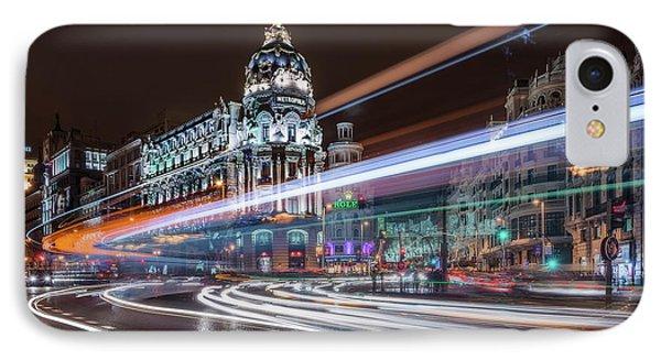 Madrid Traffic IPhone Case