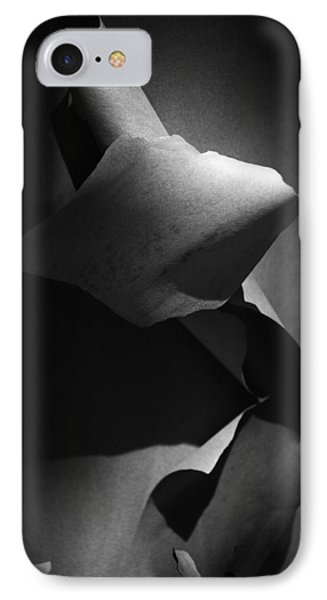 Madrona Bark Black And White IPhone Case by Yulia Kazansky