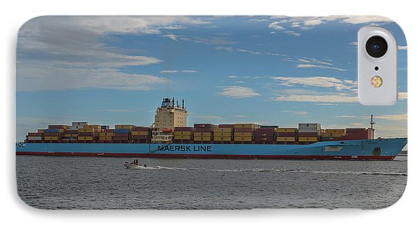 Maersk Line Beaumont IPhone Case