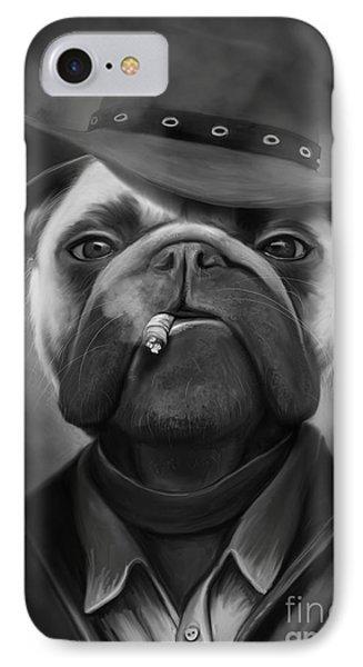 Mafia Dog Phone Case by Ivan  Pawluk