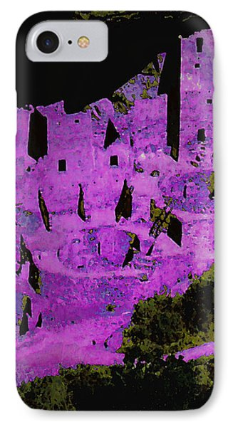 Magenta Dwelling IPhone Case by David Hansen