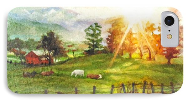 Maggie Valley Sunrise IPhone Case