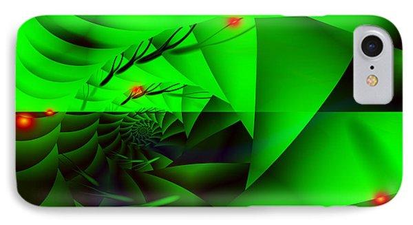 IPhone Case featuring the digital art Hidden Shell by Hai Pham