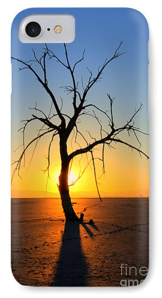 Magic At The Salton Sea Phone Case by Bob Christopher
