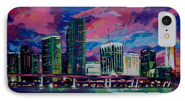 Magic City IPhone Case by Maria Arango