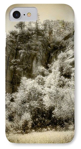 Magic Cliffs Outside Sedona IPhone Case by Dave Garner