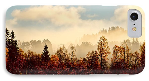 Magic Fall Forest IPhone Case