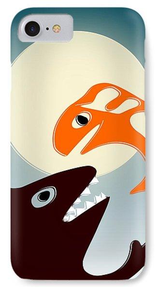 Magic Fish Phone Case by Anastasiya Malakhova